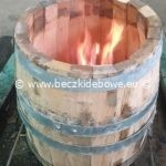 wypalanie beczki